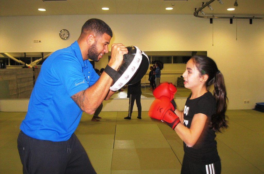 Kickboksen met de meiden