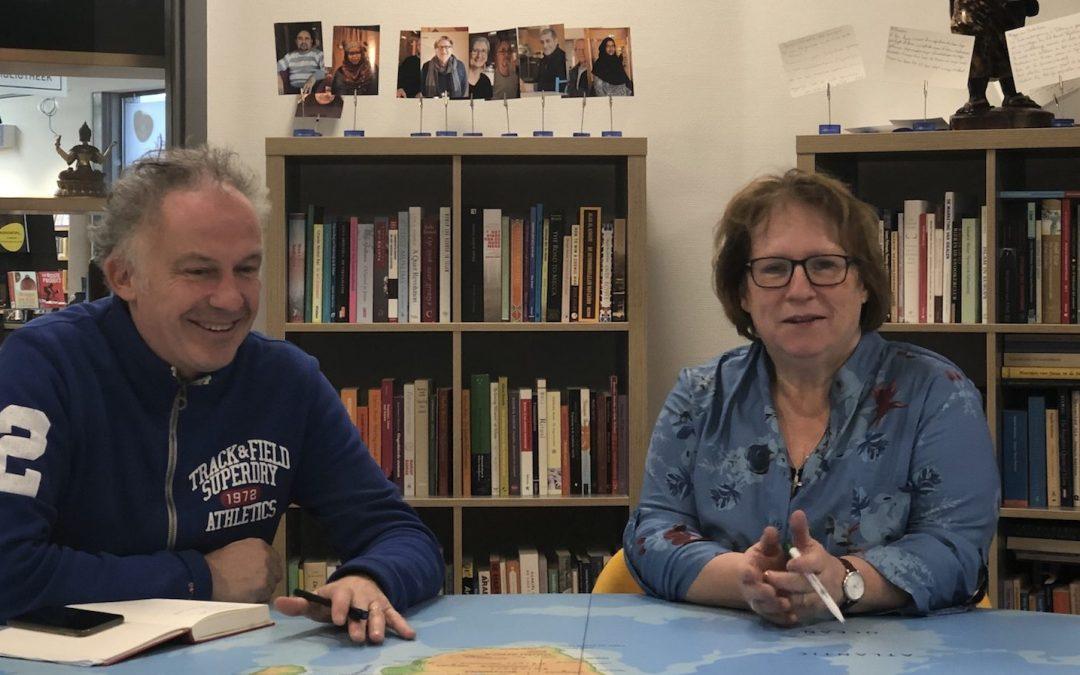 Gezamenlijke lezing Thea van Blitterswijk en Ralf Embrechts